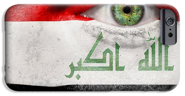 Iraq iPhone Cases - Go Iraq iPhone Case by Semmick Photo