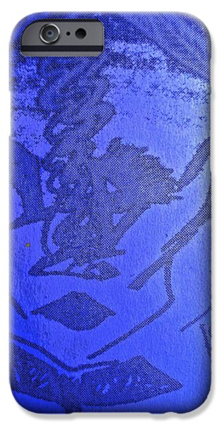 Archetype Paintings iPhone Cases - Goddess Archetype of Death and Rebirth iPhone Case by Lady Picasso Tetka Rhu