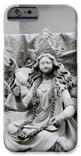 Goddess Durga iPhone Case by Shaun Higson