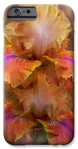 Goddess Of Sunrise iPhone Case by Carol Cavalaris