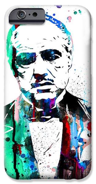 Godfather iPhone Cases - Godfather iPhone Case by Luke and Slavi