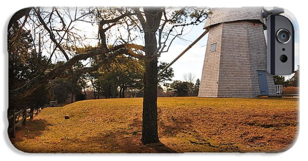 Chatham iPhone Cases - Godfrey Windmill iPhone Case by Catherine Reusch  Daley