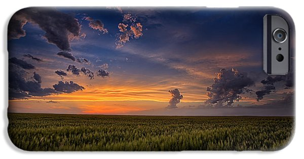 Heaven Photographs iPhone Cases - Gods Country iPhone Case by Thomas Zimmerman