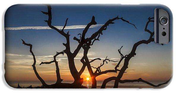 United States iPhone Cases - Gods Cradle iPhone Case by Debra and Dave Vanderlaan