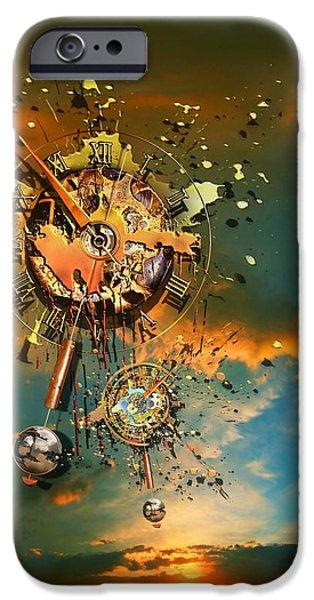 God's dusk iPhone Case by Franziskus Pfleghart