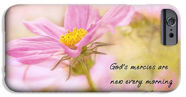 Recently Sold -  - Pastel iPhone Cases - Gods Mercies iPhone Case by Mary Jo Allen