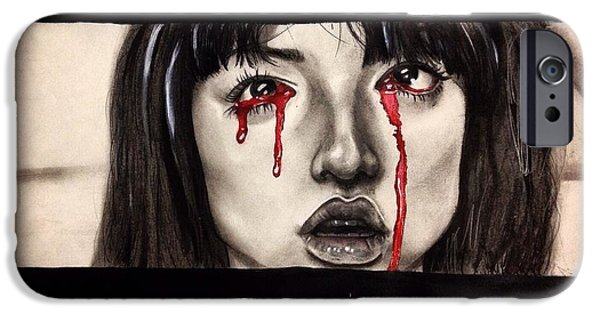 Kill Bill iPhone Cases - Gogo iPhone Case by Becca Ainley