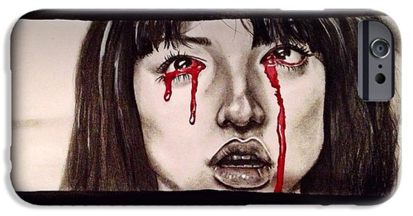 Kill Bill iPhone Cases - Gogo Without Text iPhone Case by Becca Ainley
