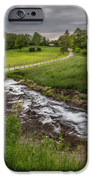 Goin With The Flow iPhone Case by Bill  Wakeley