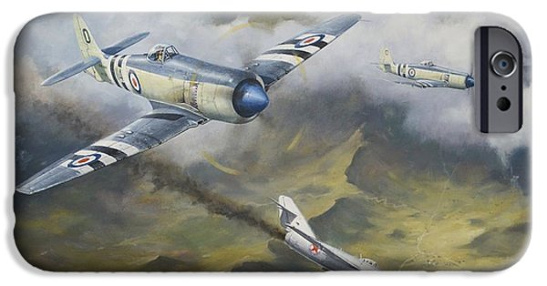 Recently Sold -  - Fury iPhone Cases - Going Down iPhone Case by Colin Parker