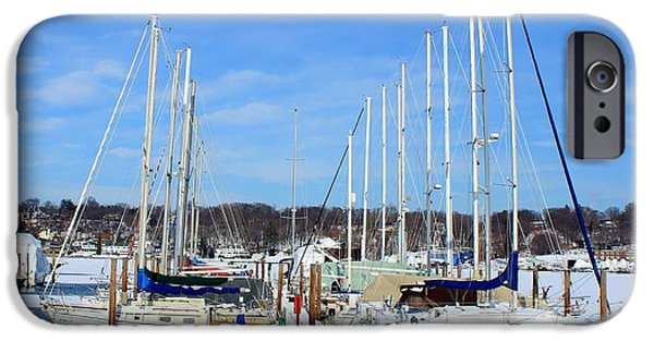 Marine iPhone Cases - Going Nowhere iPhone Case by Karen Silvestri