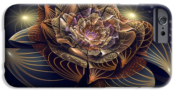 Recently Sold -  - Abstract Digital Art iPhone Cases - Going to the Light iPhone Case by Kim Redd