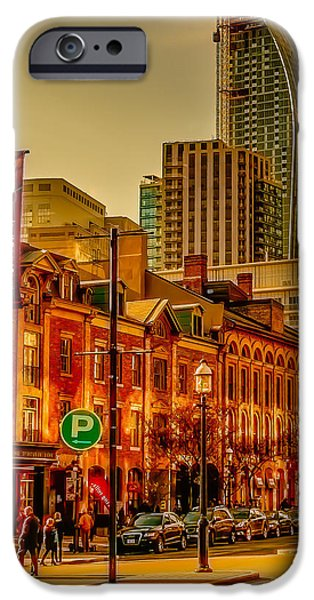 Business Photographs iPhone Cases - Going to the Market iPhone Case by James Canning
