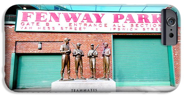 Fenway Park iPhone Cases - Going to The Park iPhone Case by Greg Fortier