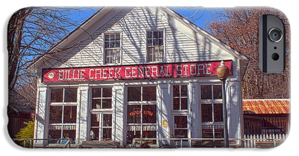 Billie Creek iPhone Cases - Going to the Store iPhone Case by Thomas Sellberg
