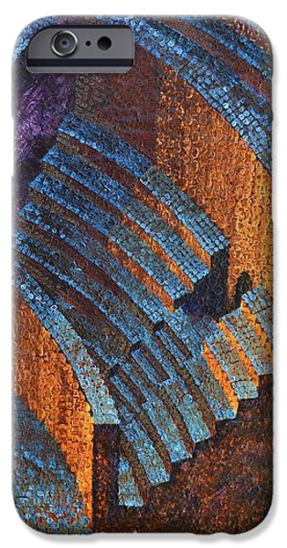 Gold Auditorium iPhone Case by Mark Howard Jones