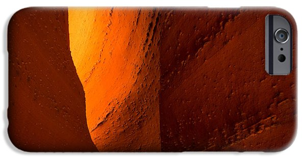 Staircase iPhone Cases - Gold iPhone Case by Chad Dutson