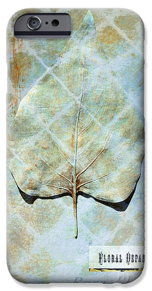 Surtex Licensing iPhone Cases - Gold Leaf Botanical Series - 1 iPhone Case by Anahi DeCanio