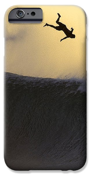 Gold Leap iPhone Case by Sean Davey