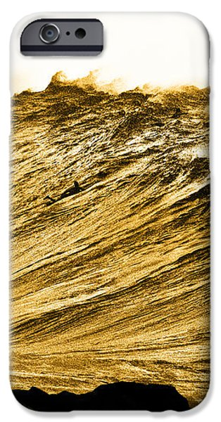Gold Nugget iPhone Case by Sean Davey
