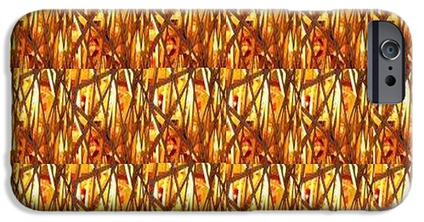 Politician iPhone Cases - Gold Strand Sparkle Decorations iPhone Case by Navin Joshi