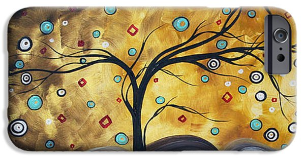 Rust iPhone Cases - Golden Admiration by MADART iPhone Case by Megan Duncanson