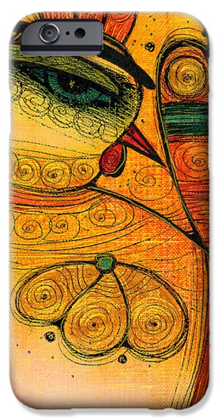 Albena iPhone Cases - Golden Bird iPhone Case by Albena Vatcheva