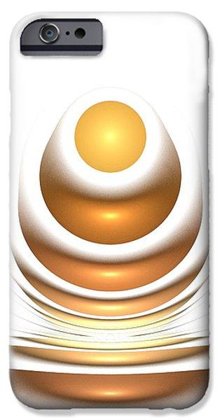 Golden iPhone Cases - Golden Egg iPhone Case by Anastasiya Malakhova