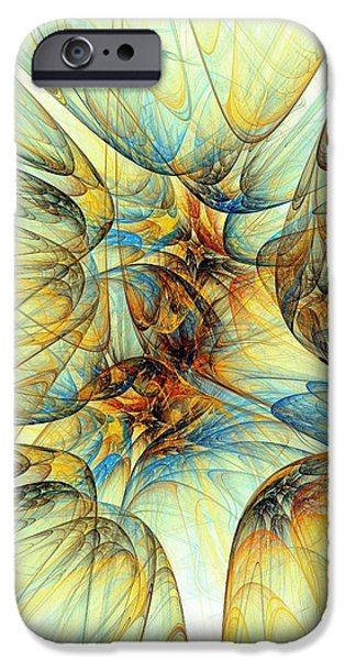 Rays iPhone Cases - Golden Fleece iPhone Case by Anastasiya Malakhova