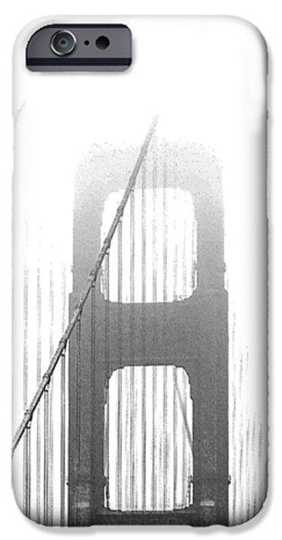 Raisa Gertsberg iPhone Cases - Golden Gate Bridge iPhone Case by Ben and Raisa Gertsberg