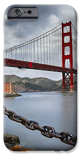 Golden Gate Bridge iPhone Case by Eduard Moldoveanu
