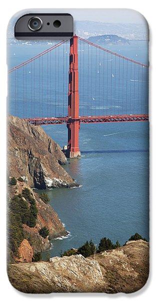 Golden Gate Bridge II iPhone Case by Jenna Szerlag