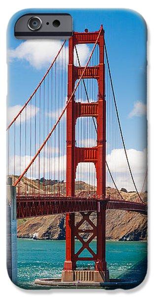 Golden Gate Bridge iPhone Case by Sarit Sotangkur