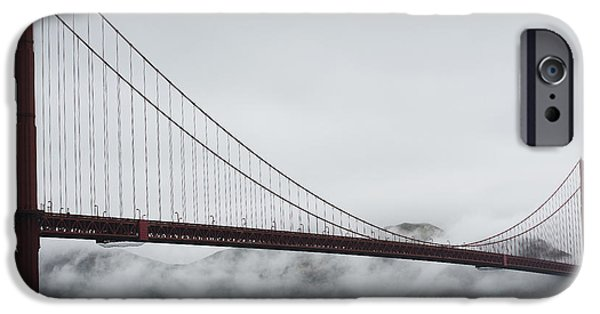 Sausalito iPhone Cases - Golden Gate by the Bay iPhone Case by David Bearden