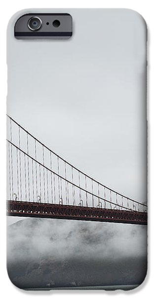 Golden Gate by the Bay iPhone Case by David Bearden