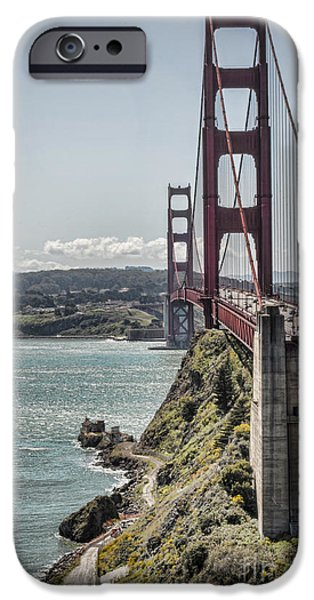 Golden Gate iPhone Case by Heather Applegate