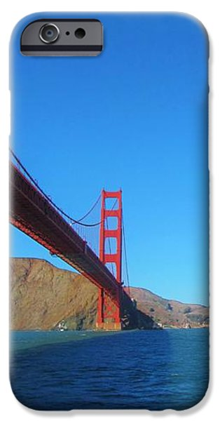 Iraq iPhone Cases - Golden Gate High iPhone Case by Michelle Dallocchio