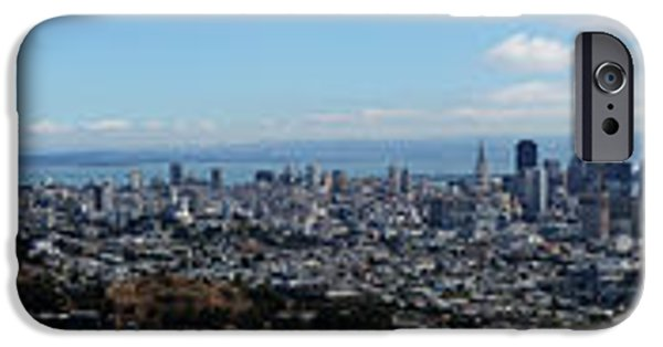 Sausalito iPhone Cases - Golden Gate to Bay Bridge iPhone Case by David Bearden