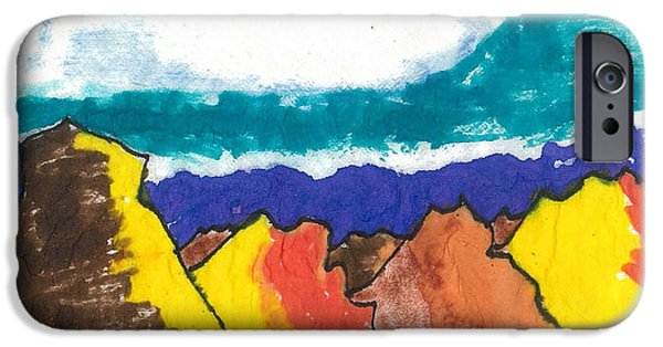 Mountain Tapestries - Textiles iPhone Cases - Golden Hills iPhone Case by Don Koester