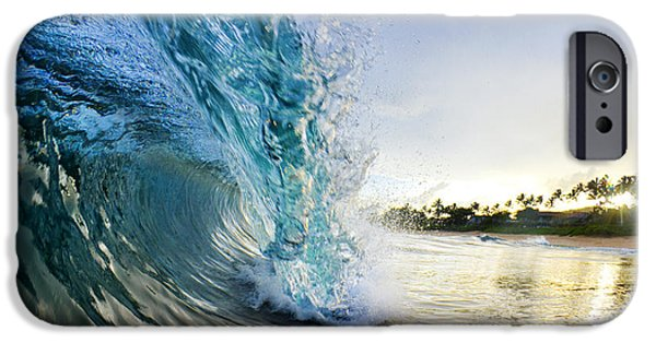 Ocean iPhone Cases - Golden Mile iPhone Case by Sean Davey