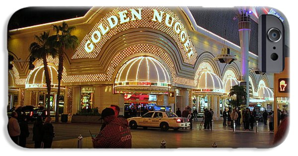 Owner Digital iPhone Cases - Golden Nugget iPhone Case by Kay Novy
