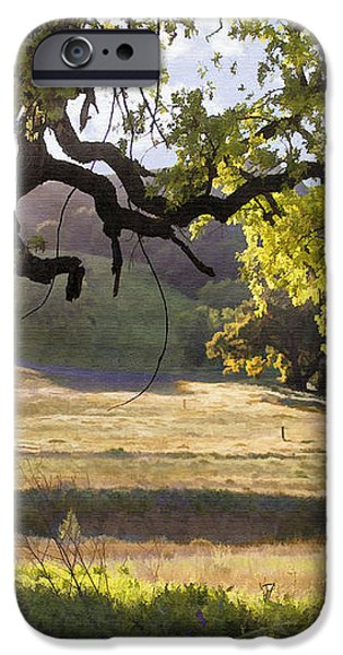 Golden Oaks iPhone Case by Sharon Foster