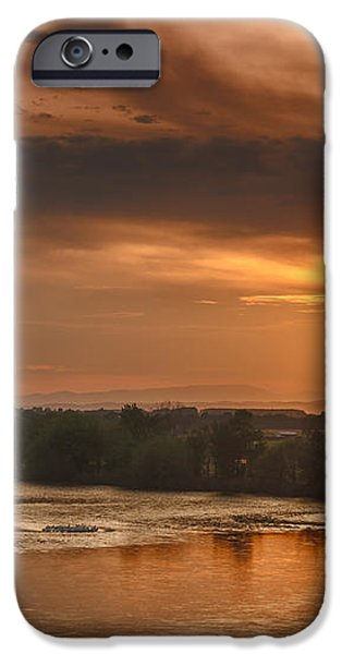 Golden Payette River iPhone Case by Robert Bales