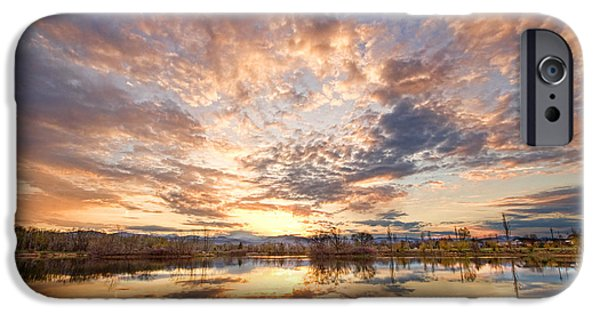 Epic iPhone Cases - Golden Ponds Scenic Sunset Reflections 3 iPhone Case by James BO  Insogna