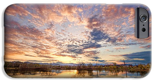 Epic iPhone Cases - Golden Ponds Scenic Sunset Reflections 4 iPhone Case by James BO  Insogna