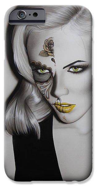 'Golden Soul' iPhone Case by Christian Chapman Art