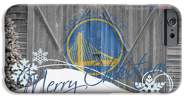 Warrior iPhone Cases - Golden State Warriors iPhone Case by Joe Hamilton