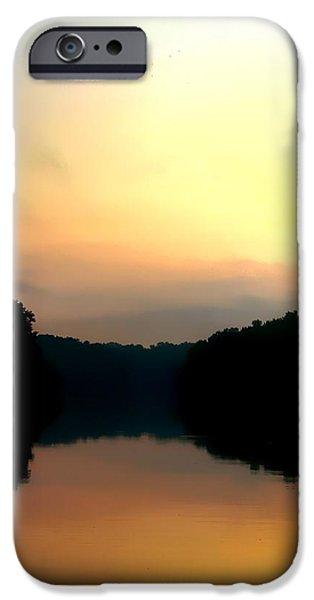 Golden Sunrise iPhone Case by Debra Forand