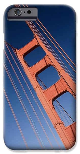 Golden Tower II LH iPhone Case by Darren Patterson