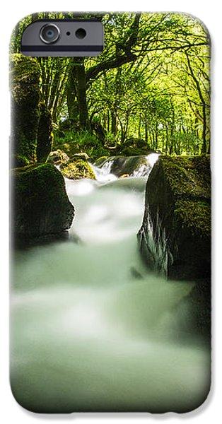 Golitha Falls iPhone Case by James Cheesman